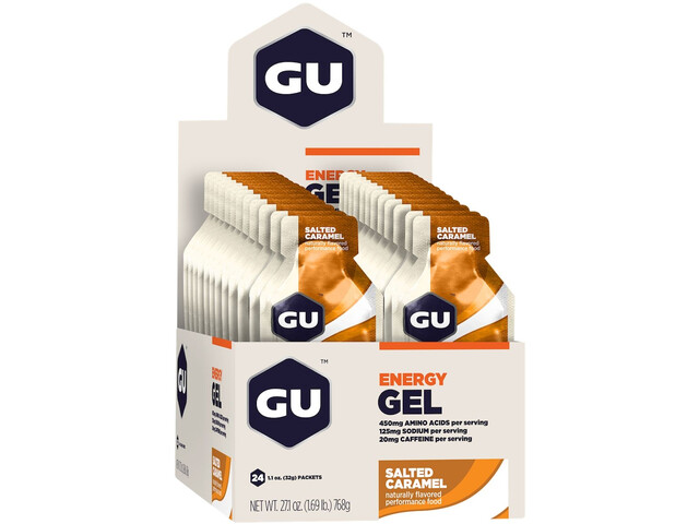 GU Energy Gel Box 24x32g Salted Caramell
